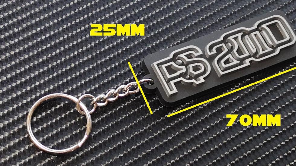 Escort RS2000 Key Ring Black