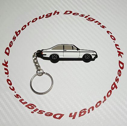 Escort RS2000 Key Ring Diamond White