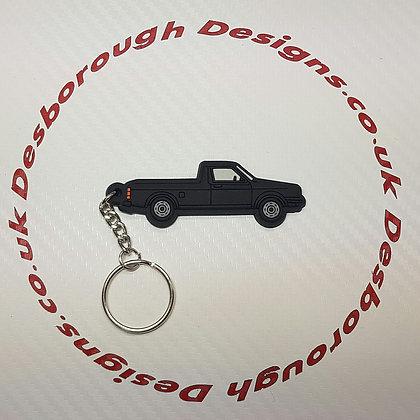 VW Golf Caddy Mk1 Key Ring Black