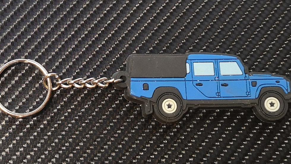 Landrover 130 Double Cab & 3/4 Tilt Blue