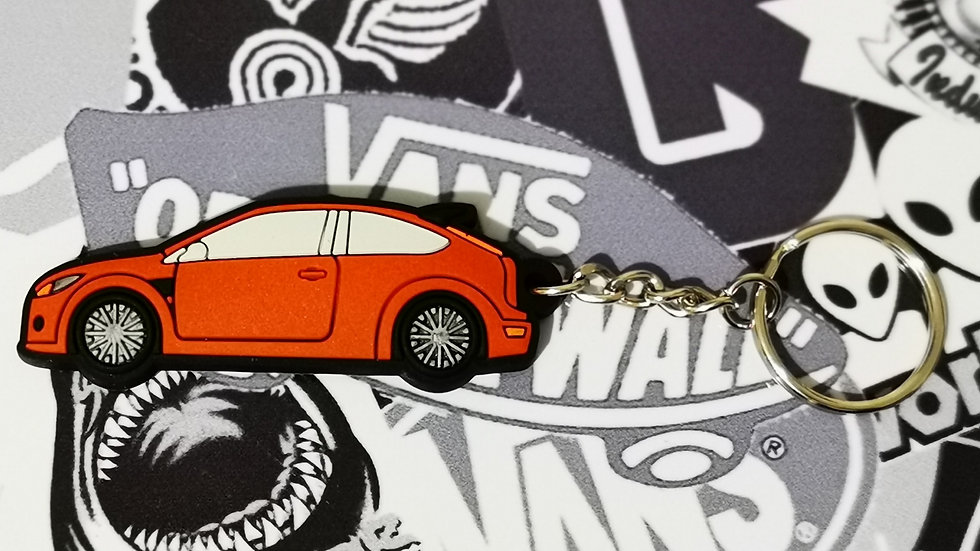 Focus RS / ST Key Ring Red
