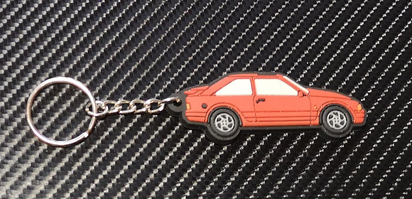 Escort RS Turbo Key Ring Red
