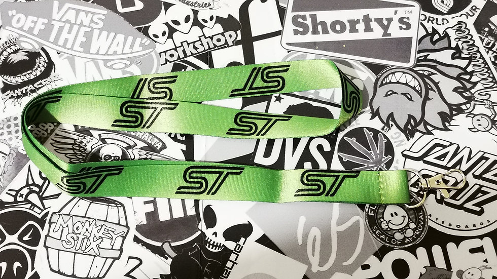 Ford ST Lanyard  Green / Black