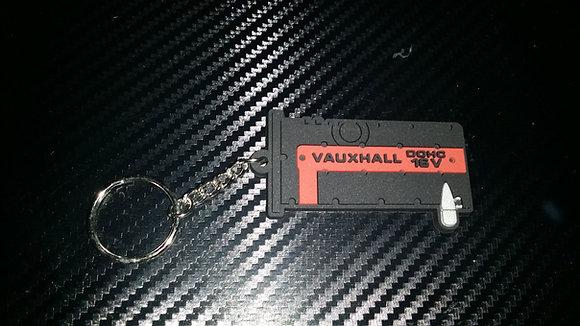 "C20XE Rocker Key Ring ""Black/Red"" Old Style"
