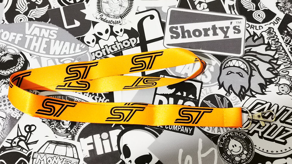 Ford ST Lanyard  Orange / Black