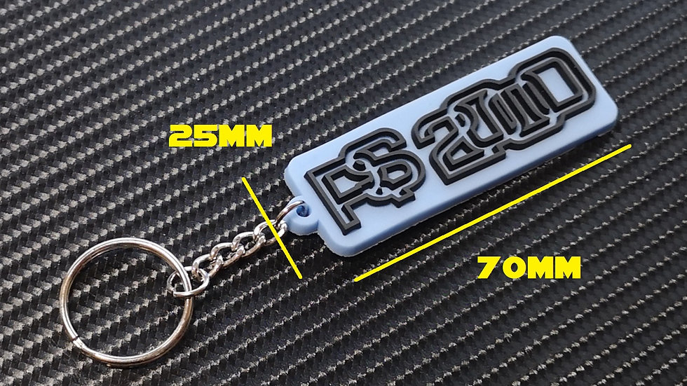 Escort RS2000 Key Ring Nordic Blue