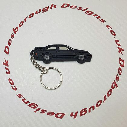 RS 500 Cosworth Key Ring Black