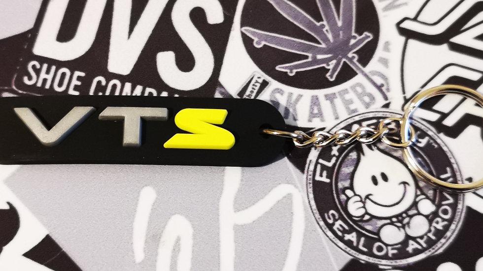 Citroen VTS Key Ring Yellow S