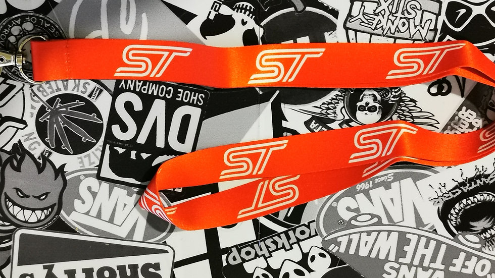 Ford ST Lanyard Red / White