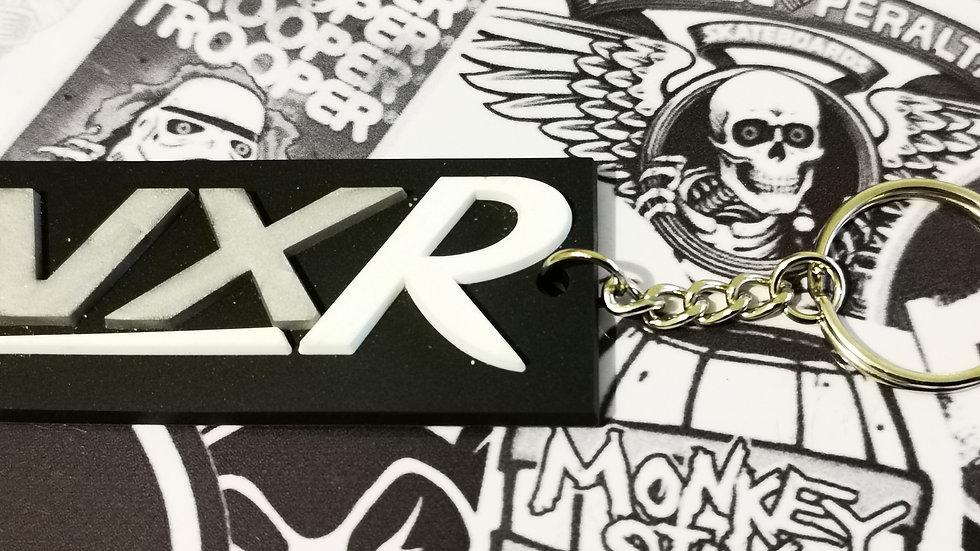 """Vauxhall VXR Key Ring """"WHITE R"""""""