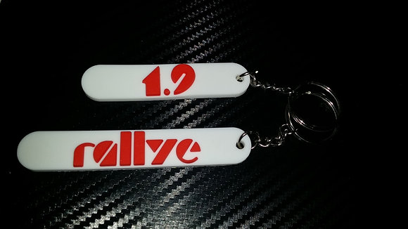 Peugeot 205 Euro Rally Key-Rings 1.9