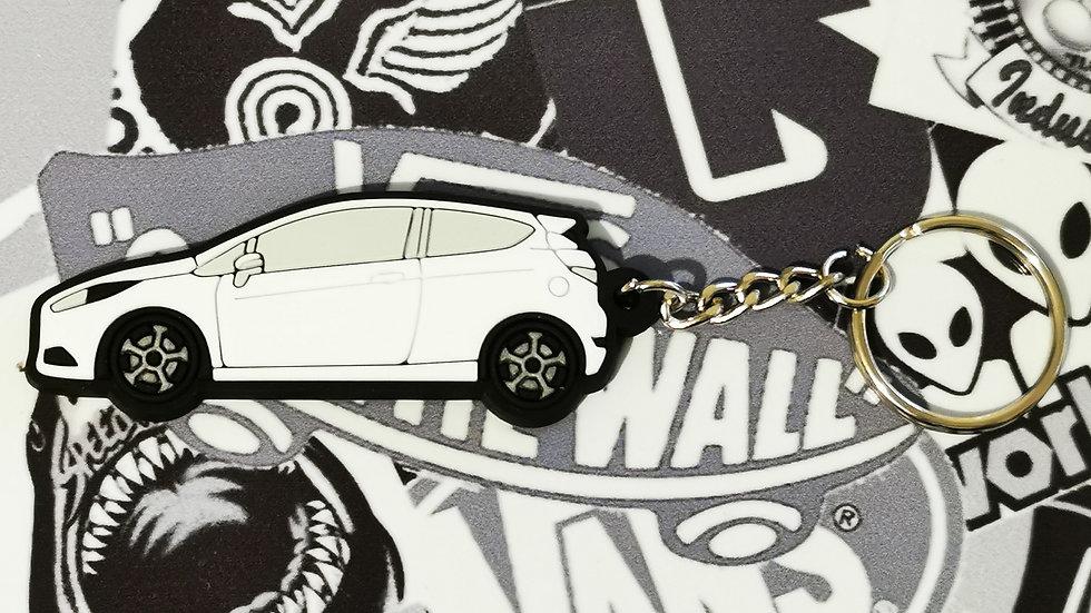 Fiesta ST Key Ring White