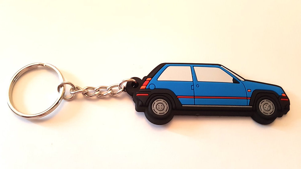 Renault 5 GT Turbo Phase 1 Key Ring