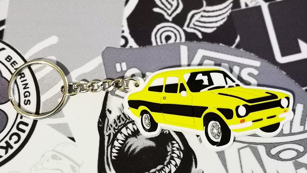 Mark 1 Escort Key Ring Yellow