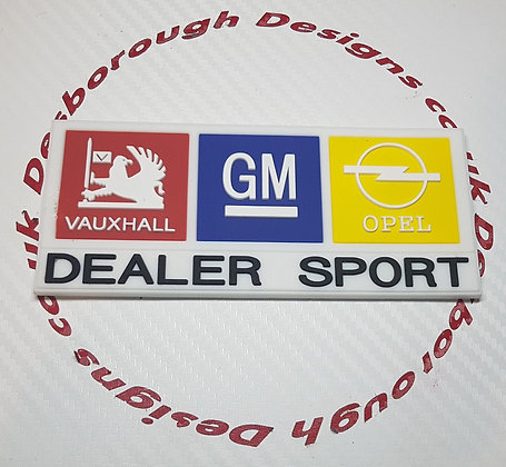 Vauxhall Opel Dealer Sport Key Ring