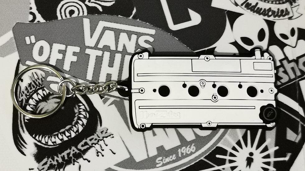 Ford Zetec Rocker Cover Key Ring White