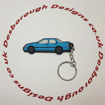 Serria Sapphire RS Cosworth Key Ring Blue