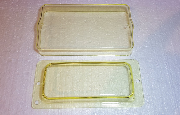 405/309 Fog light covers clear (no logo) Yellow