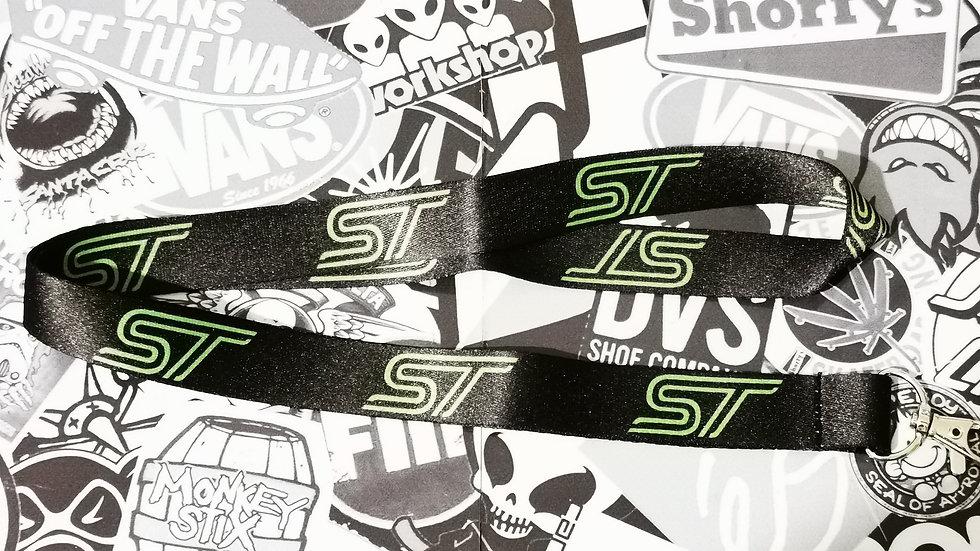 Ford ST Lanyard Black / Green