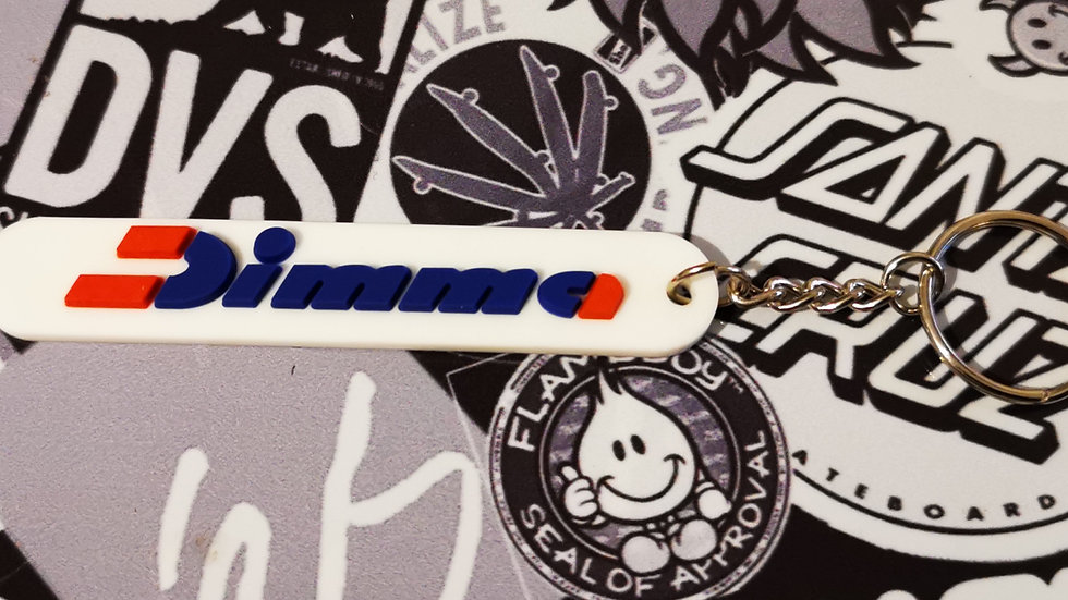 Peugeot Dimma  Key Ring - White Suit 205