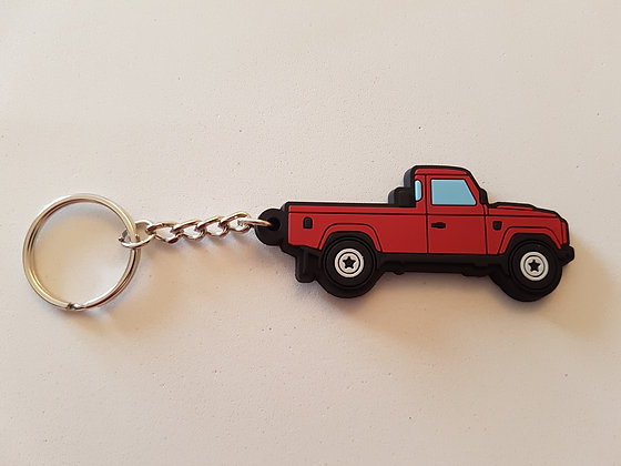 Landrover 110 Truckcab Red