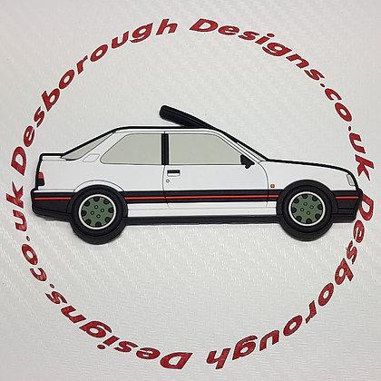 Peugeot 309 Fridge Magnet White /Goodwood