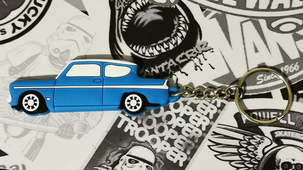 Ford Anglia 105e Key Ring