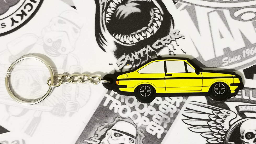Escort RS2000 Key Ring Signal Yellow