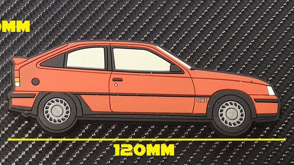 Vauxhall  Astra GTE / Opel Kaddet Gsi Fridge Magnet Red