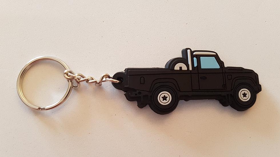 Landrover 110 Truckcab Hi-Cap Black