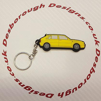 Lancia Delta Evo Integrale Yellow