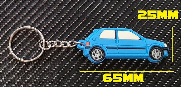 Peugeot 106 GTI Car Key Blue