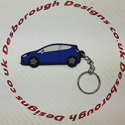 Fiesta ST Key Ring Blue