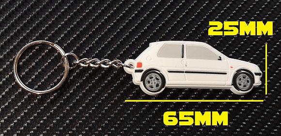 Peugeot 106 GTI Car Key White