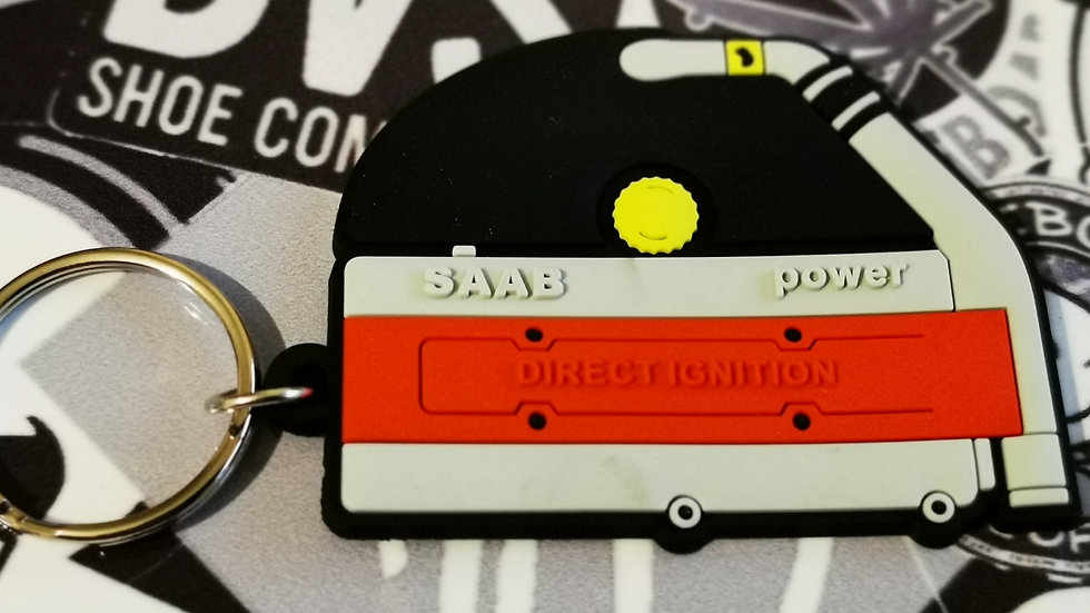 Saab Turbo Rocker Cover Key Ring