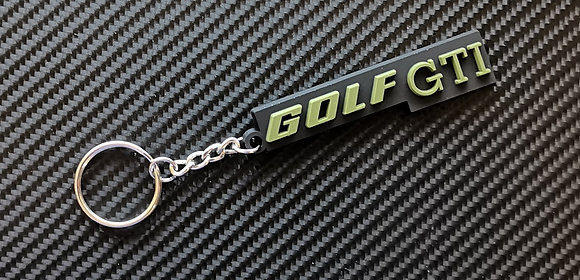 VW Golf Mk1 Rear Badge Key Ring
