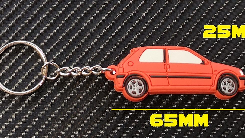 Peugeot 106 GTI Car Key Red