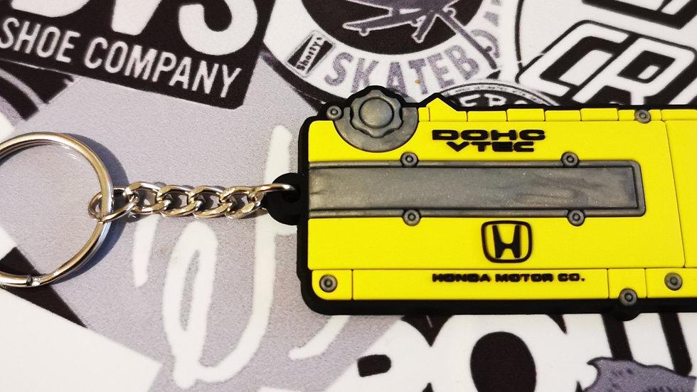 Honda Type R Vtec Rocker Key Ring Yellow  (EK9/DC2)