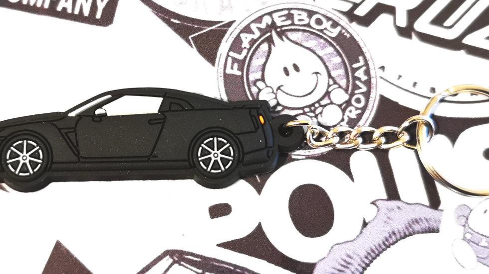 Nissan GTR R35 Black Key Ring