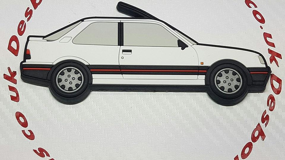 Peugeot 309 GTI Fridge Magnet White