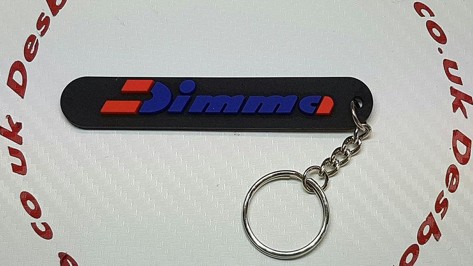 Peugeot Dimma  Key Ring - Black