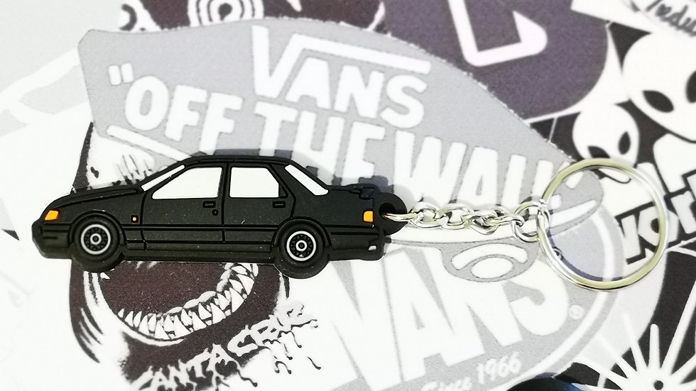 Ford Sierra Sapphire RS Cosworth Key Ring Black