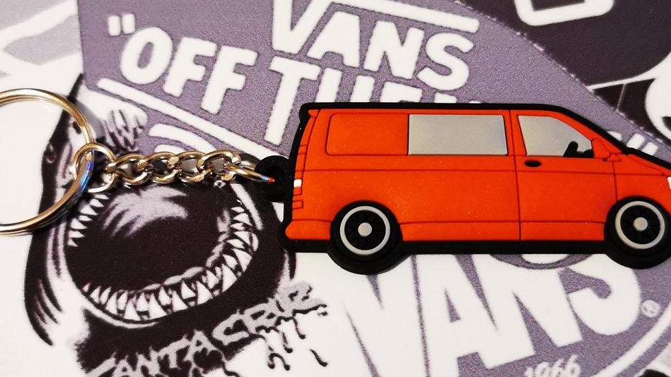 Volkswagen T5 Camper Van Red with rear Window