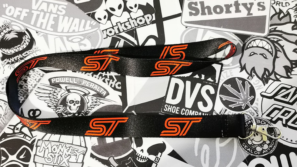 Ford ST Lanyard  Black / Red