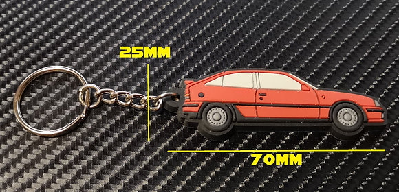 Vauxhall  Astra GTE / Opel Kaddet Gsi  Key Ring Red