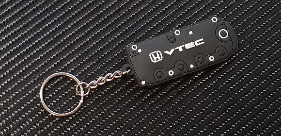 Honda Type R Vtec Rocker Key Ring Black
