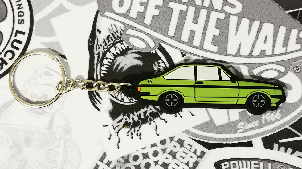 Escort RS2000 Key Ring Java Green