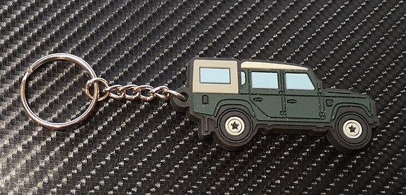 Landrover 110 Double Cab & 3/4 Tilt Green