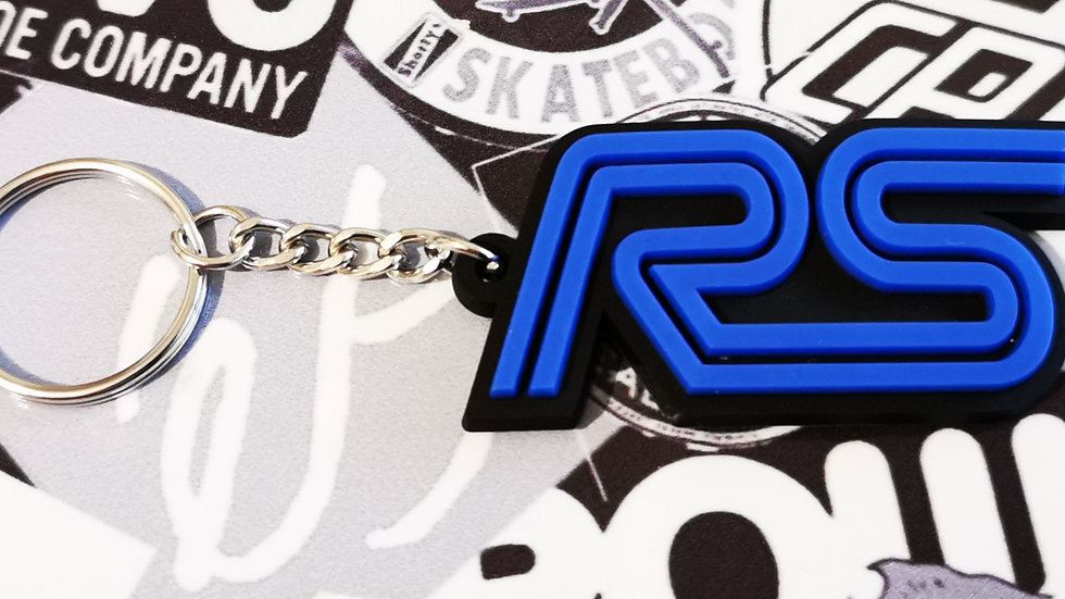 Ford RS Focus ST Key ring  Black / Blue