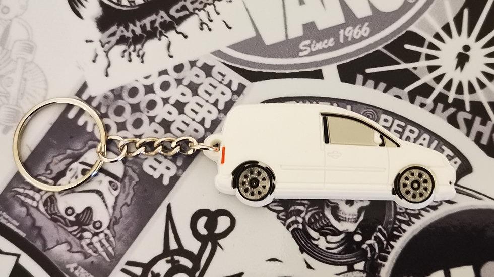 Volkswagen  Caddy MK3 Bentley Wheels White